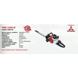 Hedge trimmers TM 2200 M...