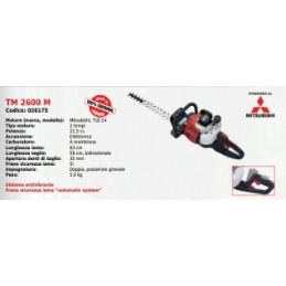 Hedge trimmers TM 2600...