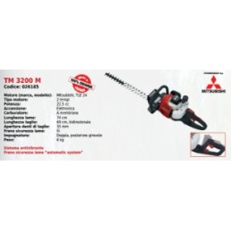 Hedge trimmers TM 3200...