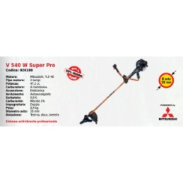 Brush cutter double handle...