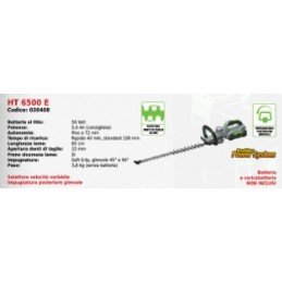 The hedge trimmer 65 cm HT...