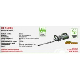 Hedge trimmers 51 cm HT...