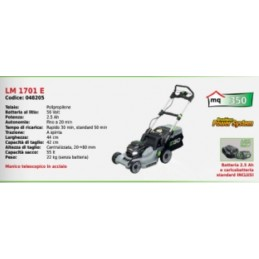 Lawn mower battery-LM 1701...