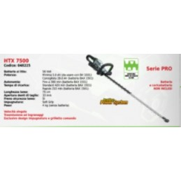 Hedge trimmer battery-HTX...