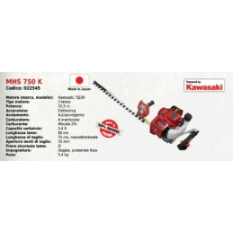 Hedge trimmers MHD 750 K...