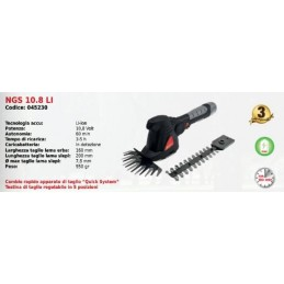Shears with lithium battery...