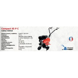 Cultivator COMPACT 45 P C...
