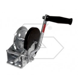 Winch without brake with...