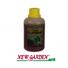 Oil synthetic lubricant for engines 2stroke 100 ml. machines giardinaggio320100