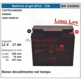 GEL battery GP12 - 17A...