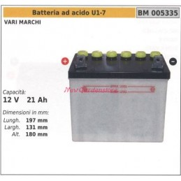 Acid battery U1-7 different...