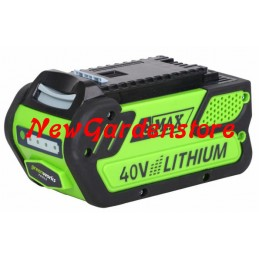 Batterie 40V 4Ah GREENWORKS...