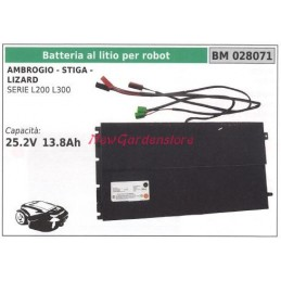 Lithium battery for robot...