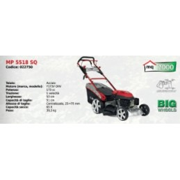Lawn mower steel MP 5518 SQ...