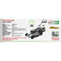 Lawn mower battery-LM 2122,...