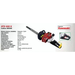 The hedge trimmer ATD 600...